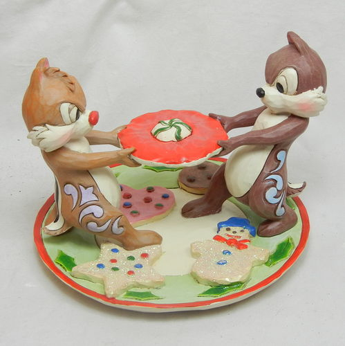 Showcase Chip and Dale Figur Save same for Santa  4046023