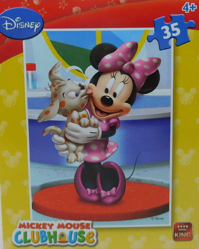 King Puzzle 35 Teile Minnie Mouse