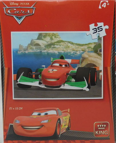 King Puzzle 35 Teile Cars Francesco Bernoulli