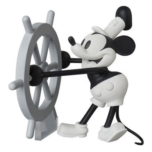 Steamboat Willie Mickey Mouse Udf Mini Figur Medicom Disney Shop