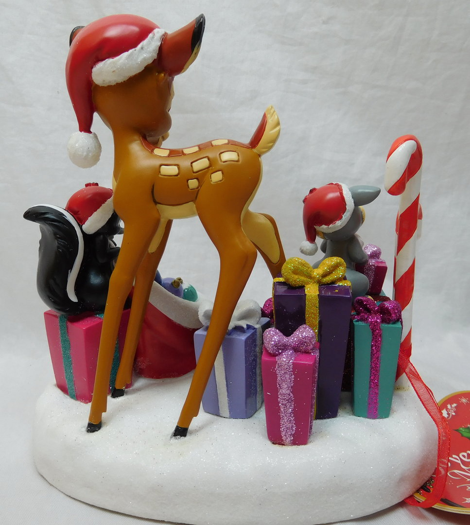 disney weihnachts diorama szene bambi klopfer blume ein. Black Bedroom Furniture Sets. Home Design Ideas