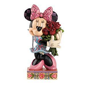 Enesco Disney Traditions by Jim Shore Minnie Mouse mit Rose Figur 4031480