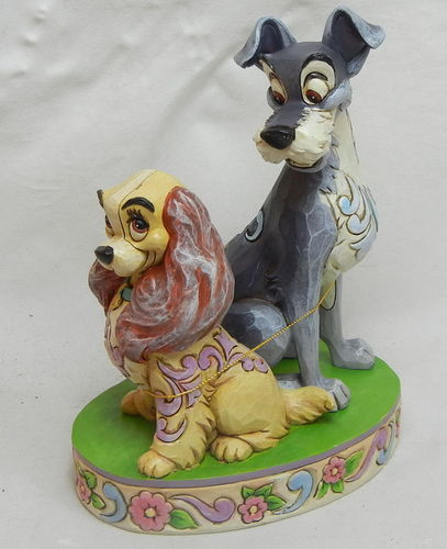 Enesco disney Traditions Jim Shore : 4046040 Susi und Strolch