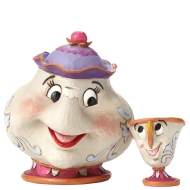 Enesco 4049622 Disney Traditions Mrs. Potts & Chip