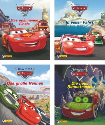 Nelson Mini-Bücher: Disney Cars 1-4 (Softcover)