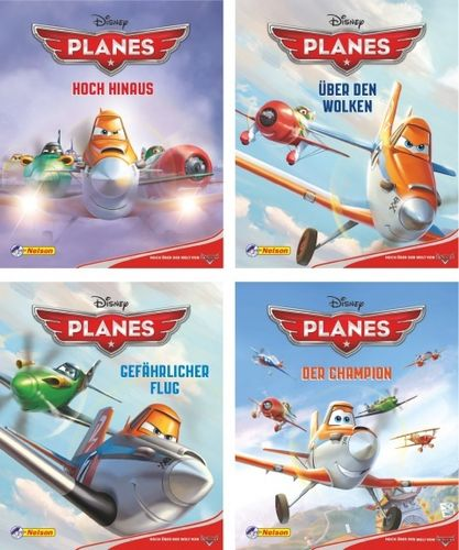 Nelson Mini-Bücher: Disney Planes 1-4 (Softcover)
