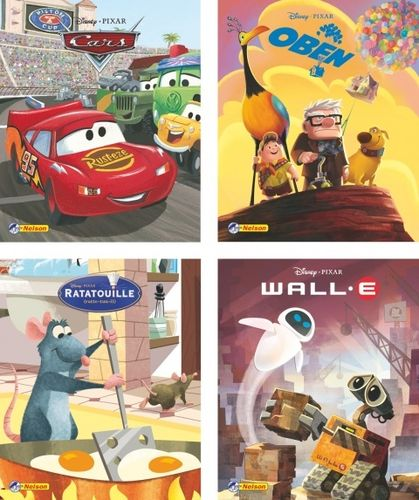 Nelson Mini-Bücher: Disney Pixar Filmhits 1-4 (Softcover)
