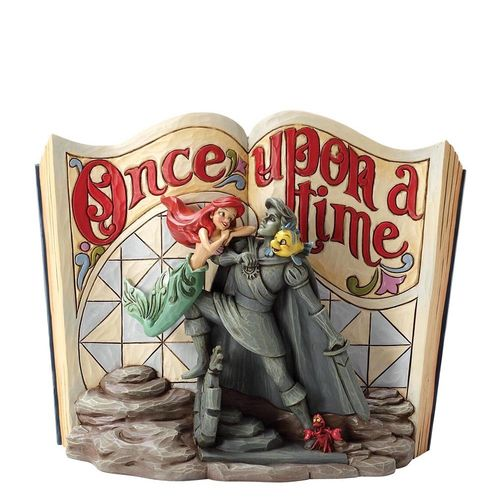 Disney enesco Jim Shore Arielle Storybook 4049644