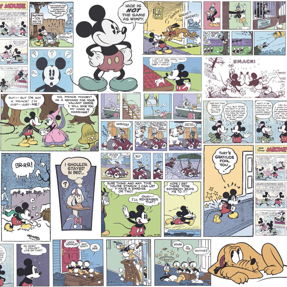 Disney Tapete 3011-1 Mickey mouse Farbig