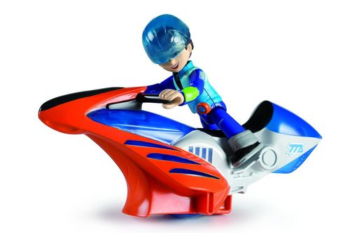 Spielfigur Miles from Tomorrow 481305 Hoverbike & Miles