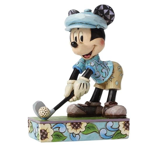 Enesco Disney Traditions Mickey als Golfer 4050392