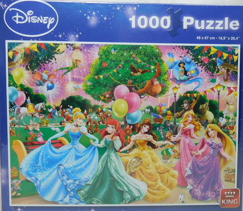 King Puzzle 1000 Teile Disney Fireworks 5261