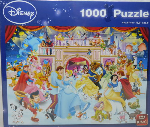 King Puzzle 1000 Teile Disney Holiday on Ice 5180