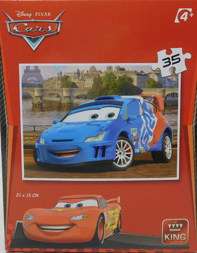 King Puzzle 35 Teile Cars Raoul Caroull