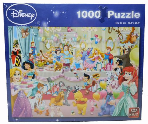 King Puzzle 1000 Teile Disney Geburtstags Party 5264