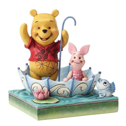 Enesco Disney Traditions Pohh & Piglet 4054279 50 Jahre