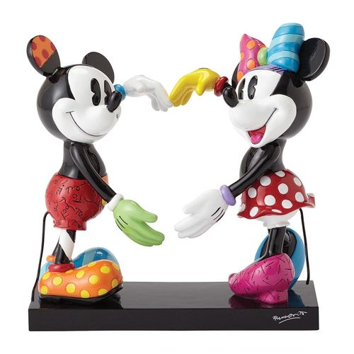 Enesco Britto 4055228 Mickey und Minnie LOVE