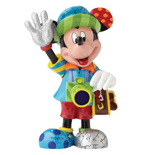 Enesco Britto 4052552 Mickey Mouse Tourist