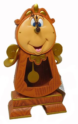 Cogsworth Clock - Beauty and the Beast by Disney / Die schöne und das Biest