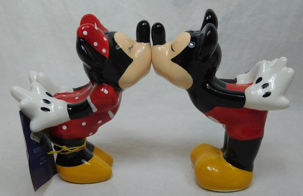 Disney Salz und Pfefferstreuer Mickey und Minnie - Ein Disney Shop ...