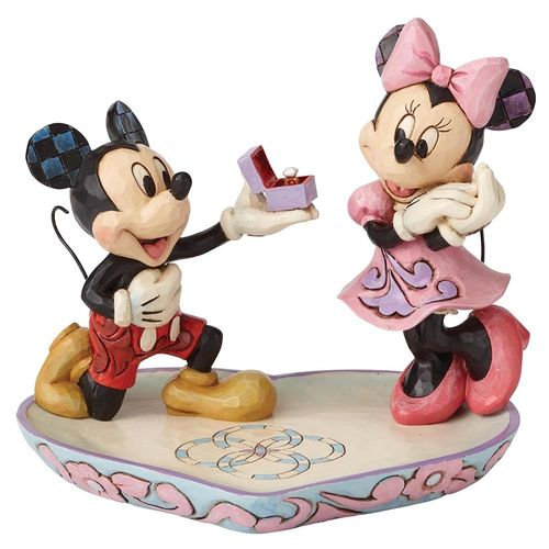 Disney Traditions Mickey macht Minnie einen Heiratsantrag