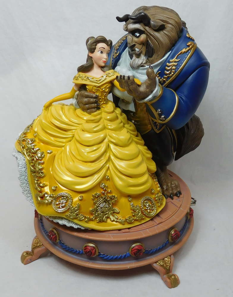 Disney Beauty And The Beast Limited Edition Spieluhr Disneystore