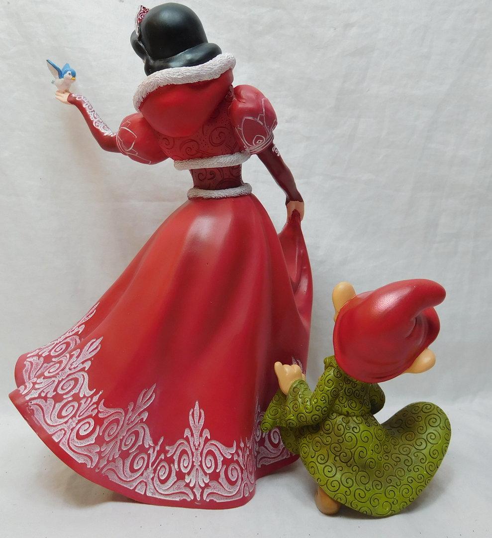 Disney Showcase Enesco Haute Couture Schneewittchen Dopey Christmas 4058287