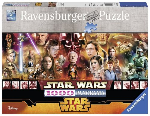 Ravensburger Puzzle 15067 - Star Wars Legenden, 1000-Teilig Panorama