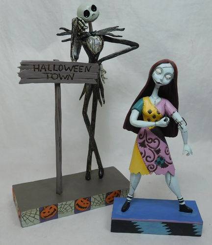 Enesco Jim Shore 4051983 & 4051984 Jack & Sally