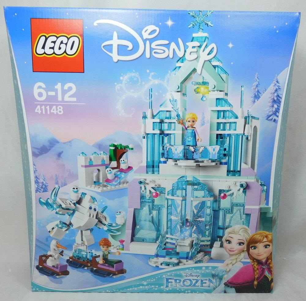LEGO Bau- & Konstruktionsspielzeug LEGO® Disney Princess 41148 Elsas magischer Eispalast