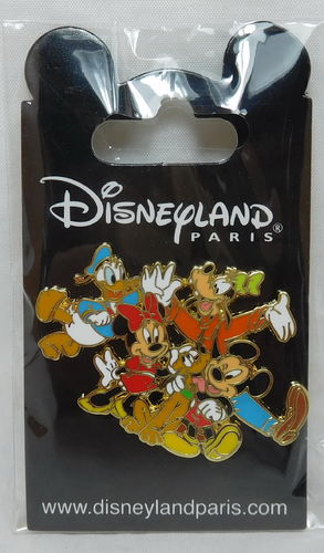 Pin Trade 2017 Mickey und Co Goofy Pluto Donald Minnie