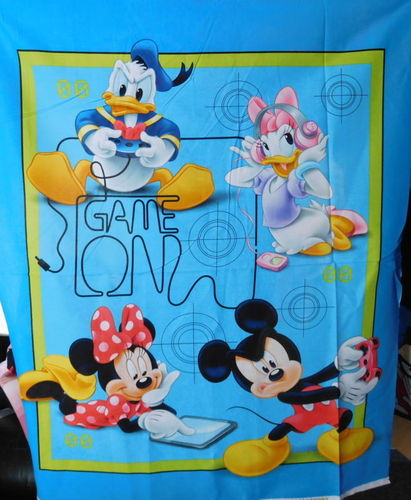 Panel Mickey & Co Game On