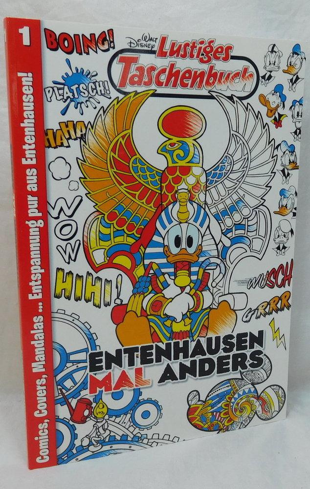 Ehapa Comics LTB Malbuch Nr. 1 - Entenhausen MAL anders Donald ...