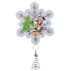 Mickey & Minnie Mouse Tree Topper Dazzler