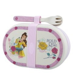 Belle Organic Snack Box with Cutlery Set
