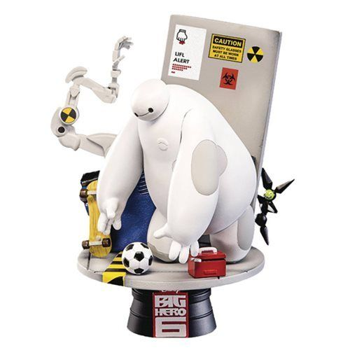 Big Hero 6 D-Select Series DS-003 6-Inch Statue