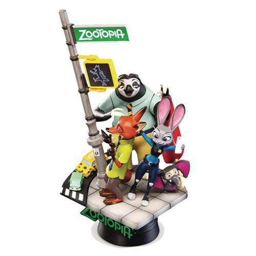 Zootopia D-Select Series DS-001 6-Inch Statue