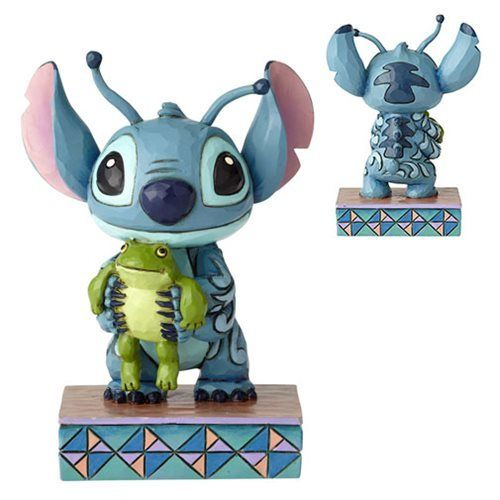 Disney Traditions Lilo and Stitch Stitch Personality Pose Strange Lifeforms Statue