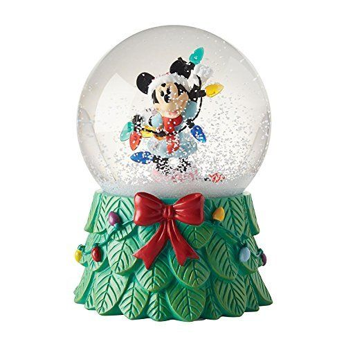 Schneekugel Disney Minnie Mouse mit Lichterkette