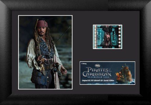 Mini Cell Filmstreifen Pirates of the Caribbean on Stranger Tides Capt. Jack Sparrow