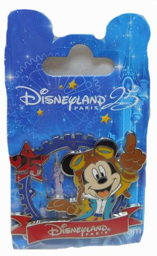 Pin Trade 2017 25 Jahre Disneyland Paris : Mickey Mouse