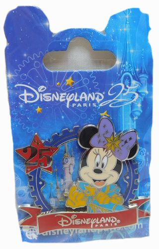 Pin Trade 2017 25 Jahre Disneyland Paris : Minnie Mouse