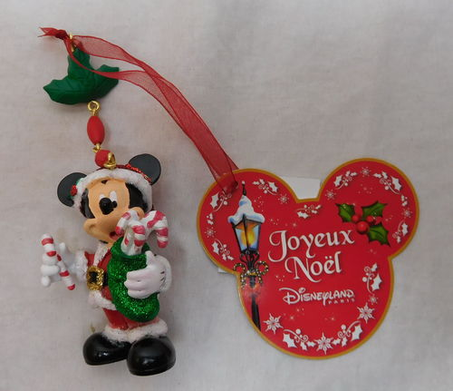 Hanging Ornament / Weihnachtsbaumschmuck : Mickey Mouse