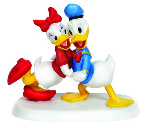 Precious Moments Donald und Daisy in Love aus Porzellan