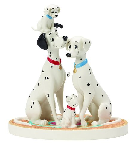 Precious Moments, Disney Showcase Pongo und Perdi aus 101 Dalmatiner
