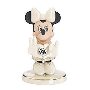 Disney Figur Lenox 845283 Minnie Claus