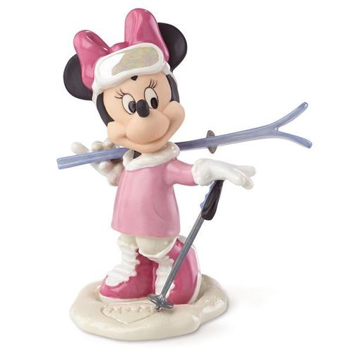Disney Figur Lenox 856510 Minnie Mouse Winter mit Ski