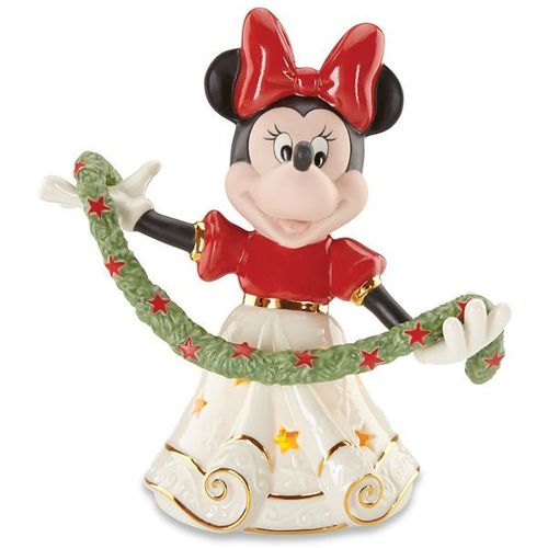 Disney Figur Lenox 853571 Merry Minnie Weihnachts Minnie Mouse