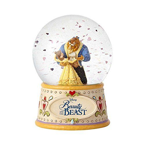 Enesco Disney Traditions Beauty & the Beast Schneekugel