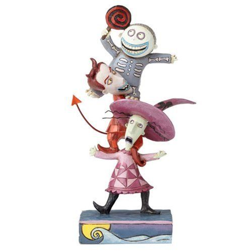 Jim Shore Disney Traditions by Enesco Lock Shock and Barrel Stacked Figurine 4057952
